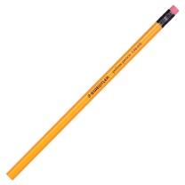 施德楼 STAEDTLER 带橡皮头黄色木杆HB铅笔 134  12支/盒