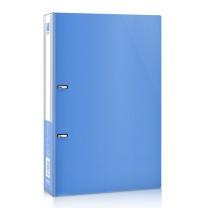得力 deli D型二孔文件夹 5383 A4 背宽28mm (蓝色) 12个/箱