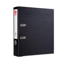 齐心 Comix 半包胶档案夹 A106N A4 3寸 (黑色)