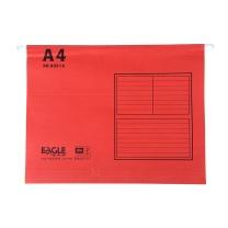益而高 Eagle 挂快劳文件夹 9351A A4 (红色) 40片/盒