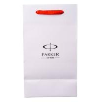 派克 PARKER 笔手提袋 时尚商务办公黑色白色随机发货中号 中号 (白色)