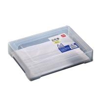 得力 deli 文件盒 78930 A4 (透明)