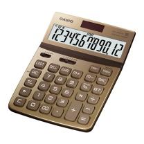 卡西欧 CASIO 魅雅系列大型计算器 DW-200TW-GD (尊贵金) 10台/盒