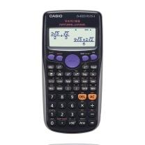 卡西欧 CASIO 函数科学计算器 FX-82ES PLUS A/PLSA 2 (黑色) 10台/盒 新老品替换发货