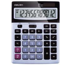 得力 deli 12位数字显示桌面计算器 1654 190*150*40mm  10台/盒