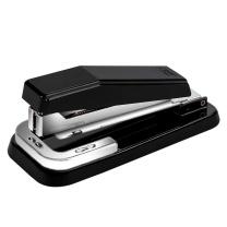 得力 deli 旋转型订书机 0414 25页 (白色、灰色、蓝色、黑色) 6个/盒 (颜色随机)