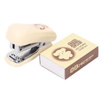 晨光 M&G 订书机套装 FBS91625 12页 (米色) 24卡/盒