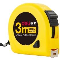 得力 deli 钢卷尺 8202 3m*13mm (黄色) 10把/盒