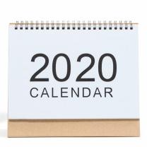斯图 2019年-2020年环保简约无印风台历 中号 18.5*21cm  单本装