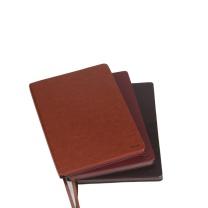 前通 front 商务 软面皮本 D66-A501 A5 (黑棕色) 154页/本