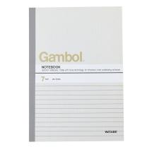 渡边 Gambol 无线装订本 G5407 A5 (混色) 40页/本 12本/封 (颜色随机)