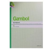渡边 Gambol 无线装订本 G4507 A4 (混色) 50页/本 10本/封 (颜色随机)