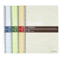 渡边 Gambol 螺旋装订笔记本 S5503/S5507 A5 (混色) 50页/本 12本/封 (颜色随机)