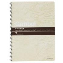 渡边 Gambol 螺旋装订笔记本 S6507 B5 (混色) 50页/本12本/封 (颜色随机)