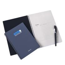 渡边 Gambol PP面双螺旋装订笔记本 DS6000 B5 (黑色、灰色) 60页/本