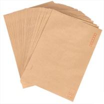得力 deli 9号A4牛皮纸大信封 邮局标准信封 25201 229*324mm (黄色) 40张/包