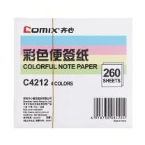 齐心 Comix 便签纸 C4212 94×87mm/260张