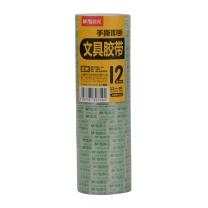 晨光 M&G 透明胶带 AJD97319 12mm*18Y  12卷/筒