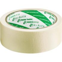北极熊 polar bear 美纹纸胶带(18.3米)2卷/筒 MK-362 36mm*20y (白色)