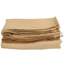 百雪 老式粗麻布袋 75*105mm