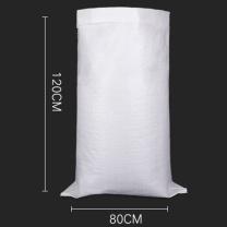 真居 编织袋搬家袋 塑料丝、绳、袋及编织品 80*120cm (白) 10只/捆