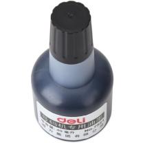得力 deli 号码机专用油墨 7521 40ml (黑色)