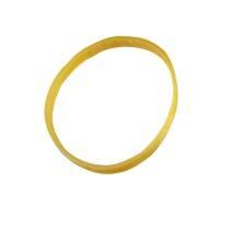 红杰 橡胶圈 5mm宽160mm周长 (黄色) 1斤/袋 宽型