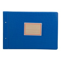 立信 塑料账夹 2902-18 18K (红色、绿色、蓝色) 10副/包