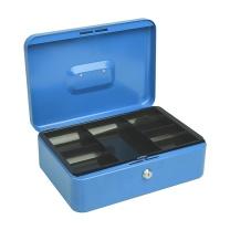 益而高 Eagle 珍宝型手提金库 钱箱 机械锁保险箱 8878 (蓝色)