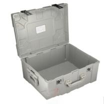 胜威 手提金库 SW-295 47*37*26cm (银灰色) 箱塑钢运钞箱调款箱双扣