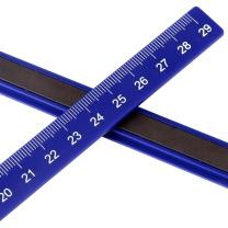 得力 deli 磁条 7860 30cm (混色) 2个/袋 (颜色随机)