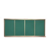 达派 推拉教学黑板 135*400cm  磁性挂式大黑板绿板大小尺寸定制可联系客服
