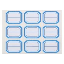 晨光 M&G 自粘性标签 YT-12 9枚*10 33*25mm (蓝色) 10张/包 (二等分)