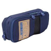 晨光 M&G 简约多功能学生大容量文具袋 APB93599 200*50*85mm (蓝色)