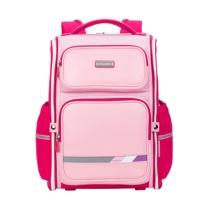 卡拉羊 Carany 小学生书包 CX2746 (颜色备注) 1-3-5年级减负双肩包一体式可打开学院风背包