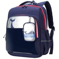 卡拉羊 Carany 小学生书包 CX2747 (颜色备注) 男女孩儿童背包1-4年级减负双肩包