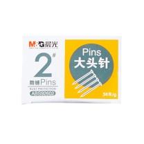 晨光 M&G 2#纸盒大头针 ABS92602 50g/盒  10盒/包