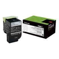 利盟 LEXMARK 碳粉盒 70C80K0 (黑色)