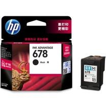 惠普 HP 墨盒 CZ107AA 678号 (黑色)