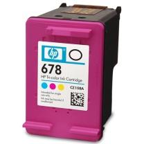 惠普 HP 墨盒 CZ108AA 678号 (彩色)
