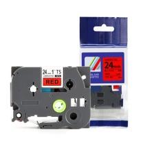 天色 标签机色带 TZ-451 24mm红底黑字 适用于兄弟标签机