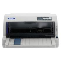 爱普生 EPSON 82列平推票据针式打印机 LQ-735KⅡ  (24针 最大打印厚度:0.53mm)