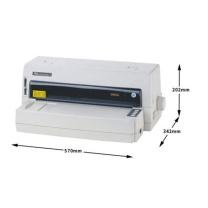得实 DASCOM 136列超高速专业平推式票据针式打印机 DS-6400III