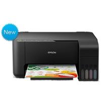 爱普生 EPSON A4全新墨仓式彩色多功能一体机 L3158 ((打印、复印、扫描)