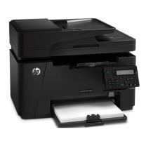 惠普 HP A4黑白激光多功能一体机 LaserJet Pro MFP M128fn  (打印、复印、扫描、传真)