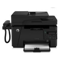 惠普 HP A4黑白激光多功能一体机 LaserJet Pro MFP M128fp  (打印 复印 扫描 传真)