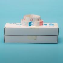 国产定制杜邦纸儿童腕带 20mm*180mm (玫蓝) 每扎100条,每包1000条