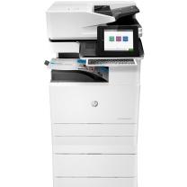 惠普 HP A3彩色数码复合机 Color LaserJet Managed Flow MFP E77825Z  (含选配件Y1F97A底座双纸盒+Y1G07A小册子装订器+Y1G23A第二出纸单元)(打印 复印 扫描)