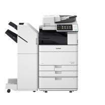 佳能 Canon A3彩色数码复印机 IRA C5535 (复印/网络打印/网络扫描/标配WiFi/红头专色/四纸盒/双面同步扫描输稿器/鞍式装订器)