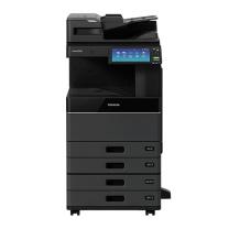 东芝 TOSHIBA A3彩色数码复印机 e-STUDIO 5015AC (双纸盒、双面同步扫描输稿器、工作台)